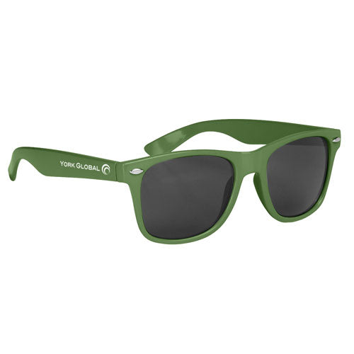 Kelly Green Custom Malibu Sunglasses