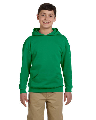 Kelly Custom Jerzees Youth Hooded Sweatshirt