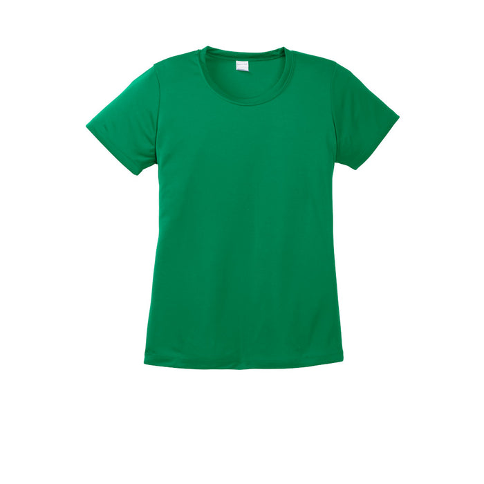 Kelly Green Custom Ladies Dry Performance T-Shirt