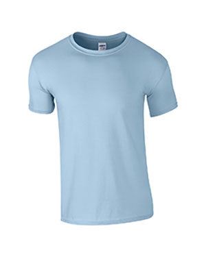 Light Blue Custom Gildan Soft Style T-Shirt