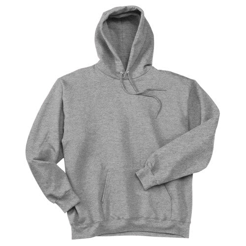 Light Steel Custom Hanes Hooded Sweatshirt