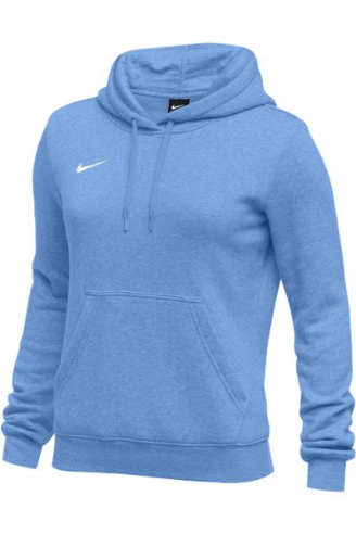 Light Blue Nike Ladies Hoodie