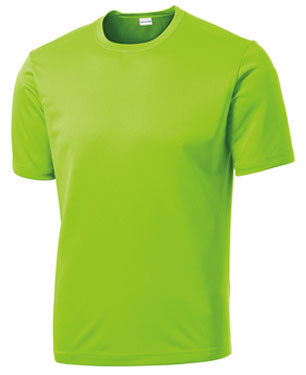 Lime Green Custom Dry Performance T-Shirt