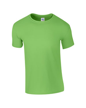 Lime Custom Gildan Soft Style T-Shirt