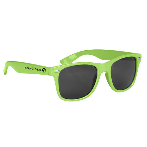 Lime Custom Malibu Sunglasses