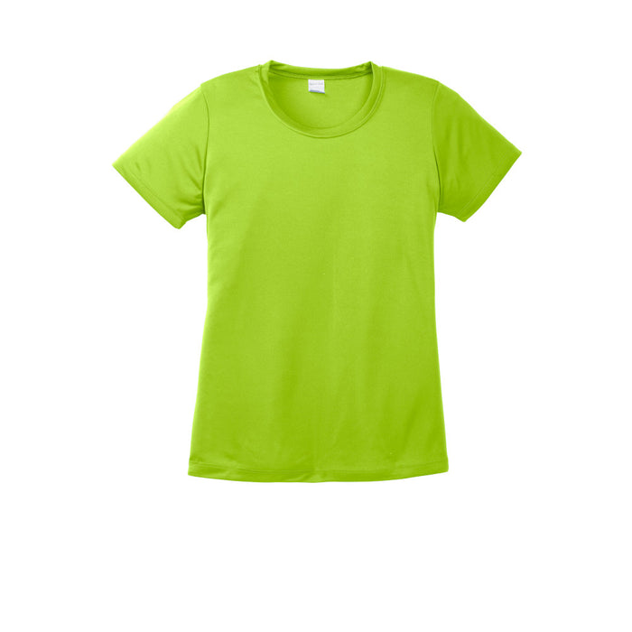 Lime Shock Custom Ladies Dry Performance T-Shirt