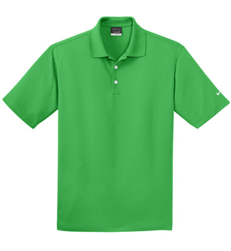 Lucky Green Nike Dri-FIT Micro Pique Polo With Logo