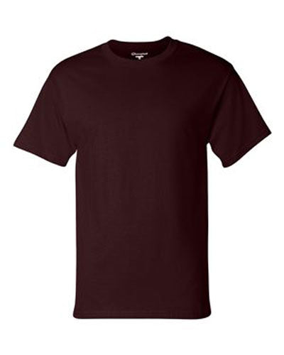 Maroon Custom Champion Short Sleeve T-Shirt