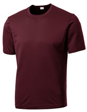 Maroon Custom Dry Performance T-Shirt