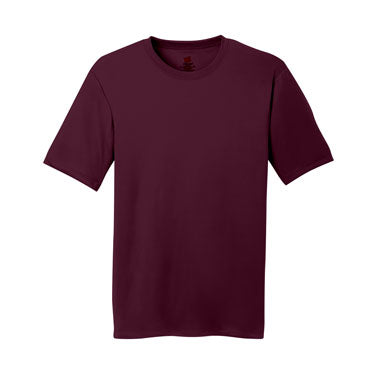 Maroon Custom Hanes Cool DRI Performance T-Shirt