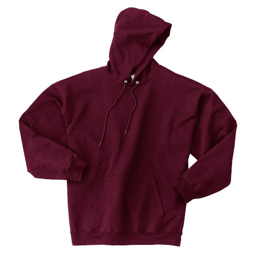 Maroon Custom Hanes Hooded Sweatshirt