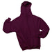 Maroon Custom Jerzees Hooded Sweatshirt