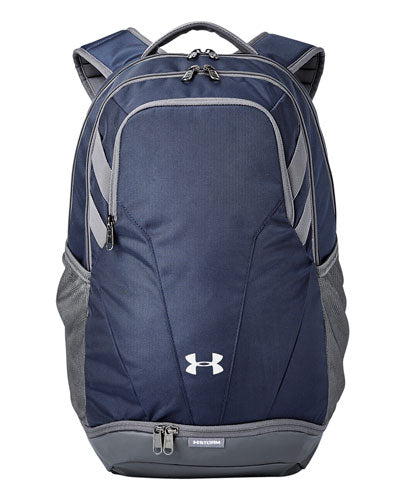 Midnight Navy/ Graphite  Custom Under Armour Unisex Hustle II Backpack