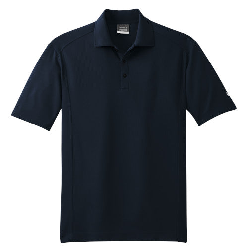 Midnight Navy Nike Dri-FIT Golf Shirt With Logo