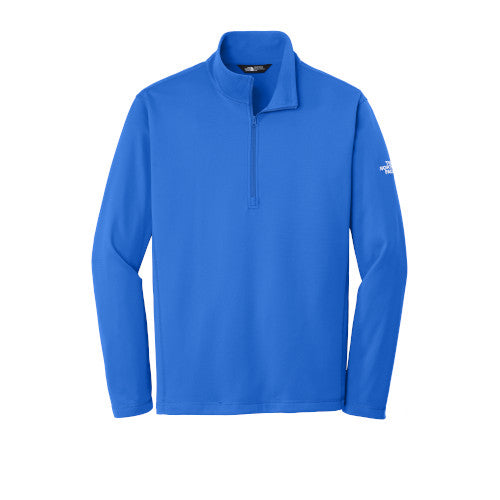 Monster Blue Custom The North Face Tech Quarter Zip Fleece Jacket