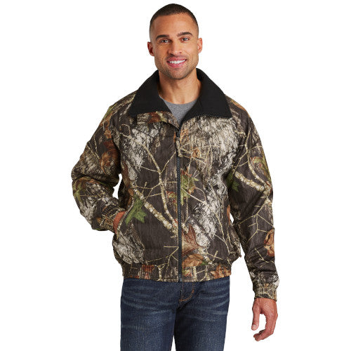 Custom Mossy Oak Jacket with logo