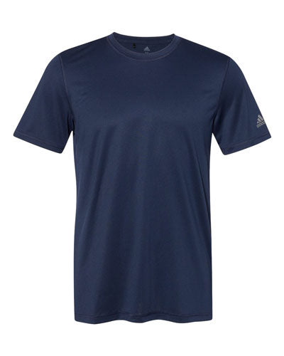 Navy Custom Adidas Sport T-Shirt