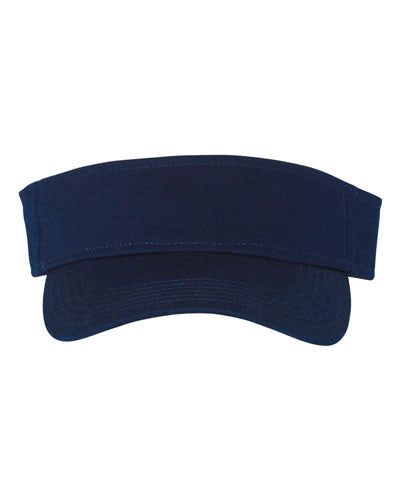 Navy Custom Champion Washed Cotton Visor