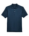 Navy Custom Devon & Jones Pima Pique Polo With Logo