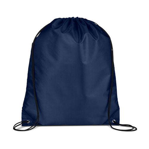 Navy Custom Drawstring Backpack