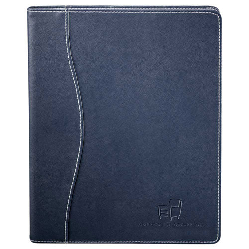 Navy Custom Hardcover Journal Notepad