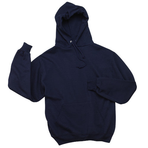 Navy Custom Jerzees Hooded Sweatshirt