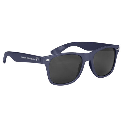 Navy Custom Malibu Sunglasses