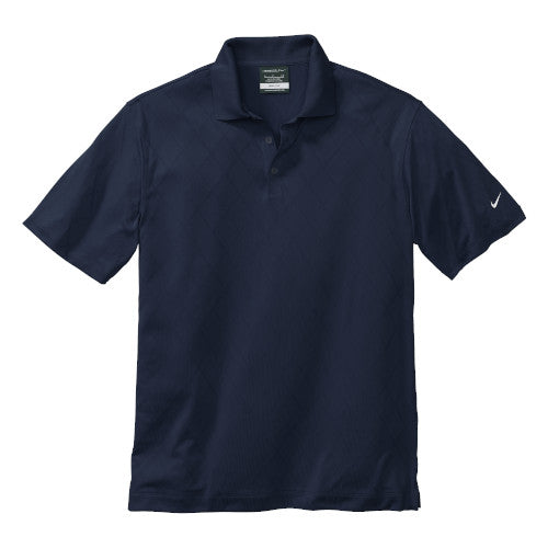 Navy Nike Dri-FIT Cross Over Shirt With Logo