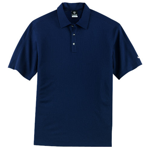 Navy Nike Tech Dri-FIT Polo With Logo