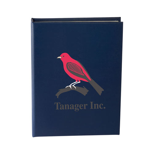 Navy Custom Sticky Note Book
