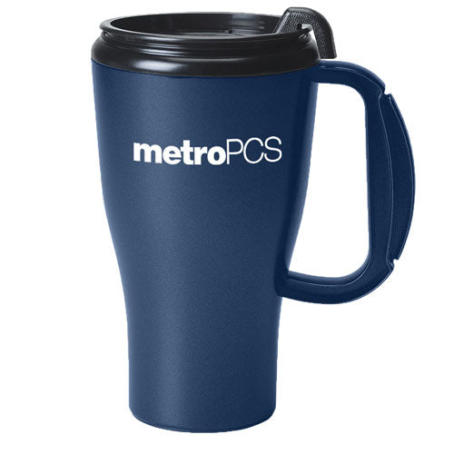 Navy Custom Travel Mug 16oz