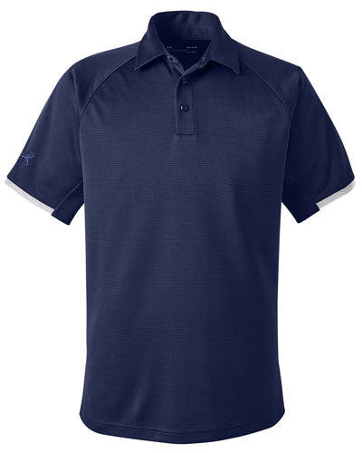 Navy Custom Under Armour Rival Polo