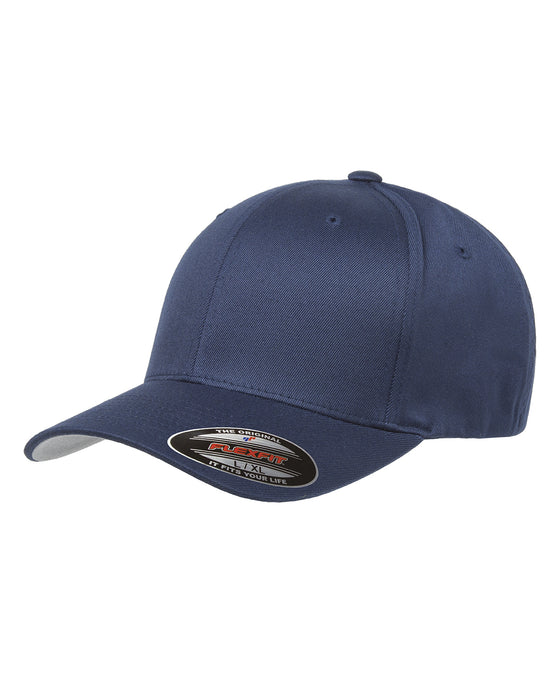 Navy Custom Yupoong Flexfit Cap Hat