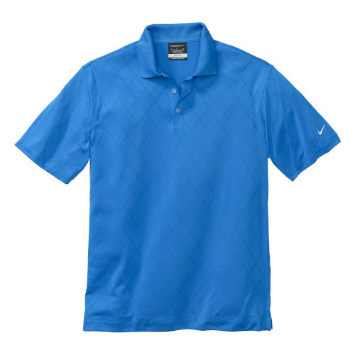 New Blue Nike Dri-FIT Cross Over Shirt With Logo