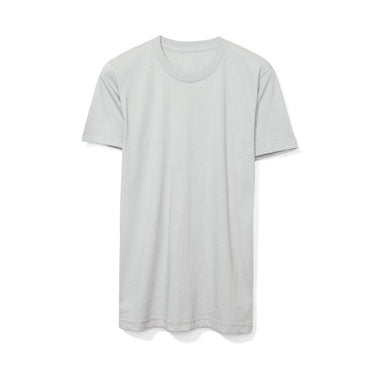 New Silver Custom American Apparel T-Shirt