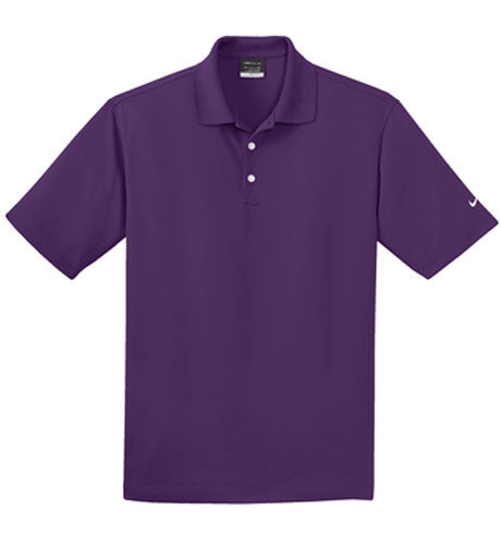 Night Purple Nike Dri-FIT Micro Pique Polo With Logo