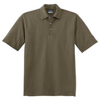 Olive Khaki Nike Sphere Dry Diamond Polo With Logo