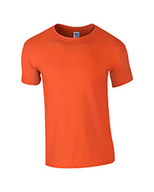 Orange Custom Gildan Soft Style T-Shirt