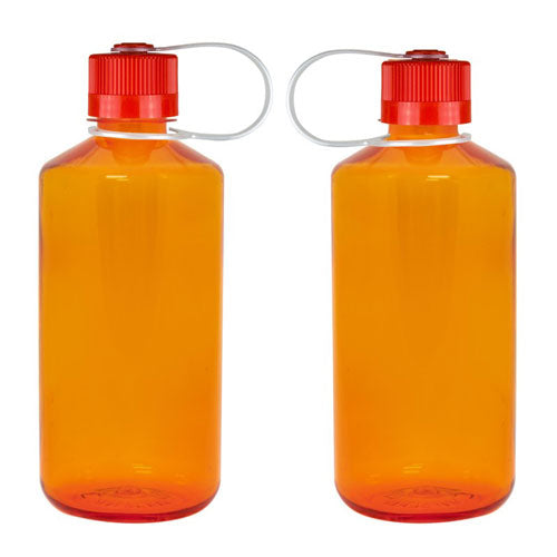 Orange Custom Nalgene 32oz Narrow Mouth Bottle
