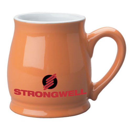Orange Custom Spokane Coffee Mug