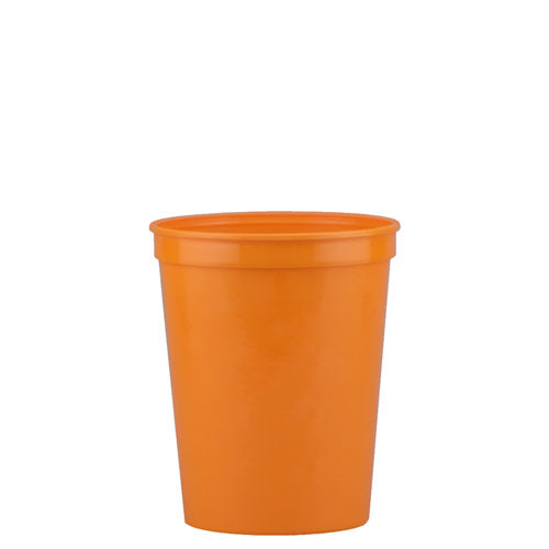 Orange Custom Stadium Cup 16oz