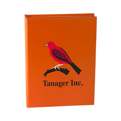 Orange Custom Sticky Note Book