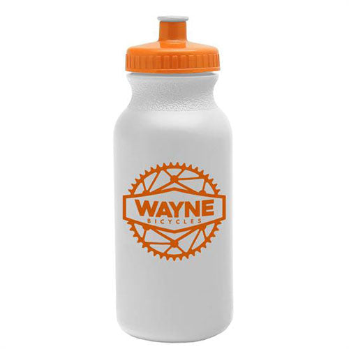 Orange Custom USA Made Water Bottle