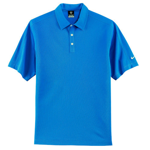 Pacific Blue Nike Tech Dri-FIT Polo With Logo