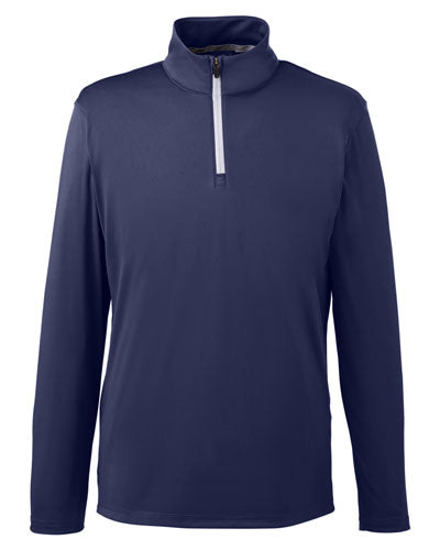 Peacoat Red Custom Puma Golf Men's Icon Quarter-Zip