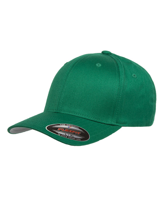 Pepper Green Custom Yupoong Flexfit Cap Hat