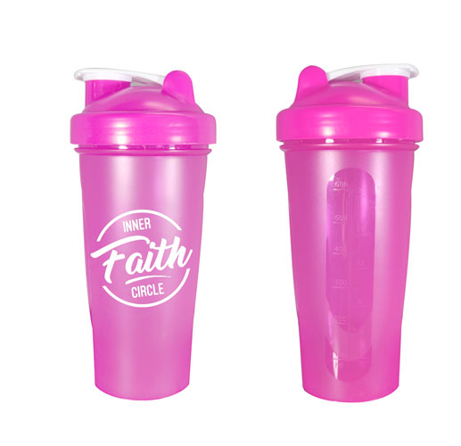 Pink Custom Blender Bottle