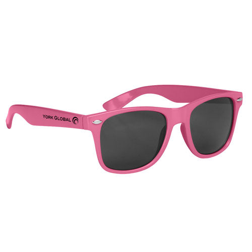 Pink Custom Malibu Sunglasses