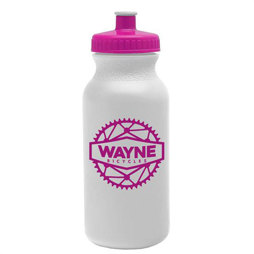 Pink Custom USA Made Water Bottle