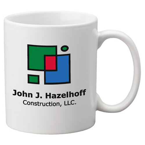 Custom Promotional Coffee Mug with logo